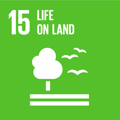 Goal: 15: Sustainably manage forests, combat desertification, halt and reverse land degradation, halt biodiversity loss Image